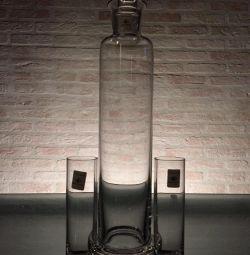 Графин для граппы с двумя стаканами. Zwiesel