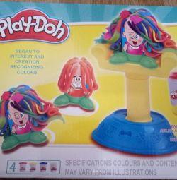 Божевільні зачіски Play-Doh