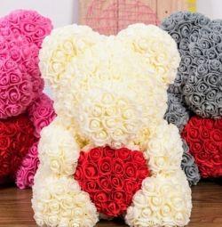 Αρκούδες από τριαντάφυλλα
