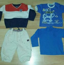 Things package for boy + shoes