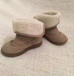 Mothercare μπότες demi-σεζόν σε ένα κορίτσι r. 24