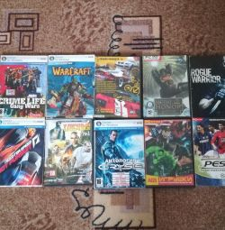 9 computer games + 1 for free
