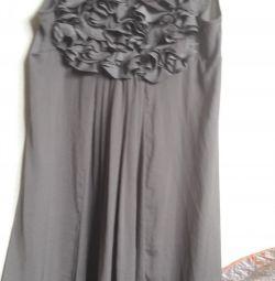 Платье шелк H&M