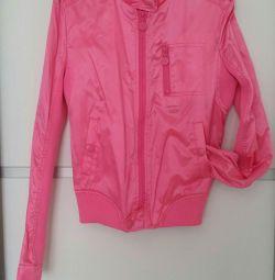 Куртка 40-42 s розовая новая oggi xs-s 40-42