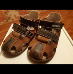 Ortho Sandals Natur Leather