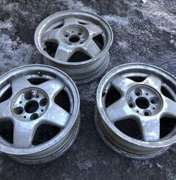 3 alloy wheels VAZ R14