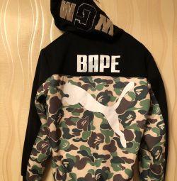 Hoodie Puma X Bape