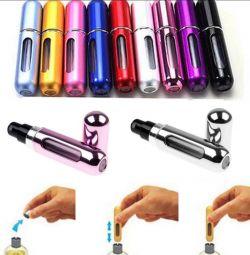 Parfümünüz için kompakt kutu / dispenser