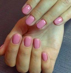?Manicure gel varnish, ? (shellac) strengthening gel