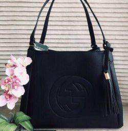 Yeni siyah çanta-alışveriş Gucci Gucci