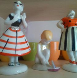 Figurines made of porcelain