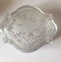 Bir düğün için kristal kutu