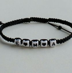 Bracelet with initials