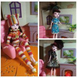 Ρούχα για την Υψηλή Κούκλα Monster