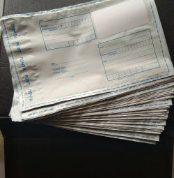 Pungi de poștă de diferite dimensiuni