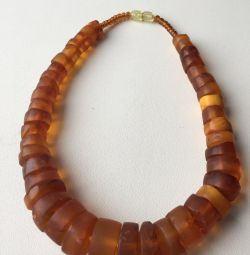 Vintage Amber Beads