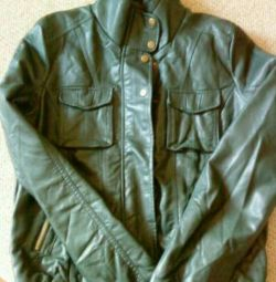 Нова кожзам куртка