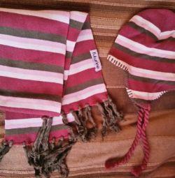 Sharqa and futurino scarf