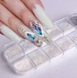 Mix box for nail design