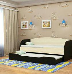 Retractable bed
