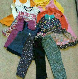 Пакет детской одежды 98 размера