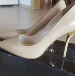 Туфлі нові шкіра Paolo Conte 38,5-39 розмір