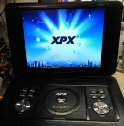 Portable TV XPX-ea1669d dvb-t2