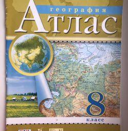 Atlas on geography grade 8