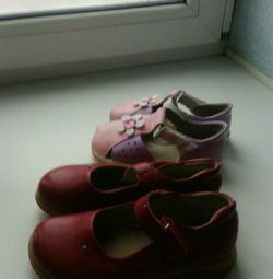 Shoes p30, sandals p15