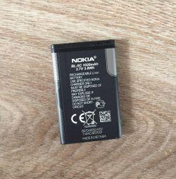 Аккумуляторная батарея на Nokia BL-5C