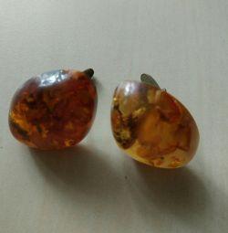 Amber Kol Düğmeleri