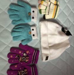 I will sell gloves and a hat