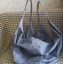 Gray bags
