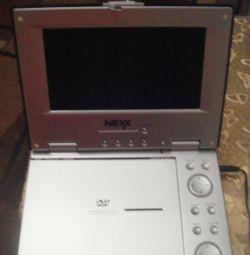 Φορητό DVD Player NEXX. ΑΝΤΑΛΛΑΓΗ.