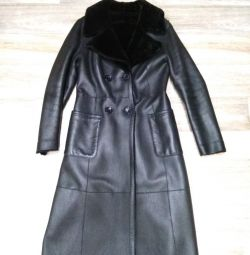 Sheepskin coat r. 48-50