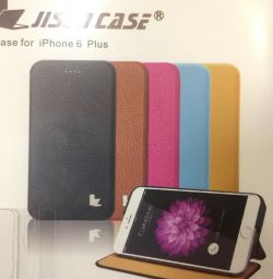 New Case for iPhone 6 / 6s plus Jisoncase Leather