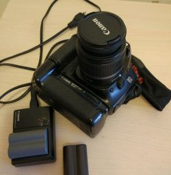 Canon 30D with 18-55 lens