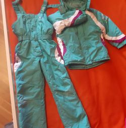 Separate jumpsuit for 8 years