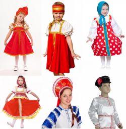 Русско-народные костюмы/Матрешка/Боярин/ Славянка