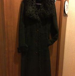 Sheepskin coat, classic