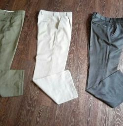 Trousers 3 pairs of rr 29 rr 46