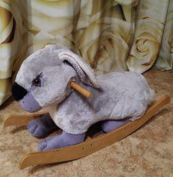 Rocking bunny