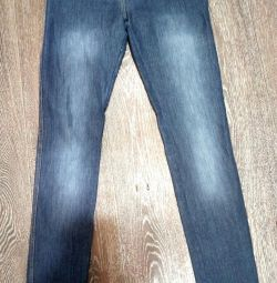 джинсові легінси