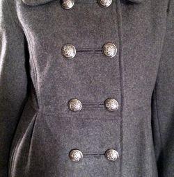 Пальто коротке вовняне 42-44 (S) б / у