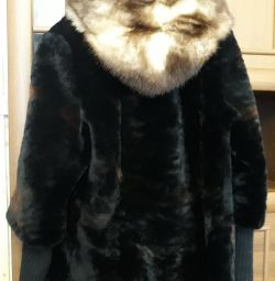 γούνινο παλτό Mouton river 48-50