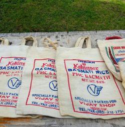 Мешки от риса
