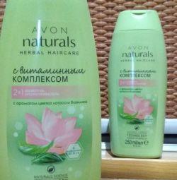Măști și șampoane Naturals