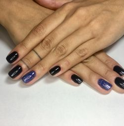Combined manicure + coating