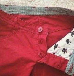 Τζιν παντελόνι κόκκινο