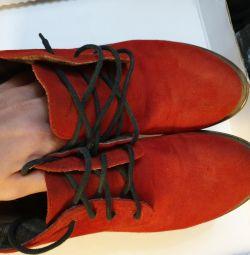 Ботинки осень натуральные